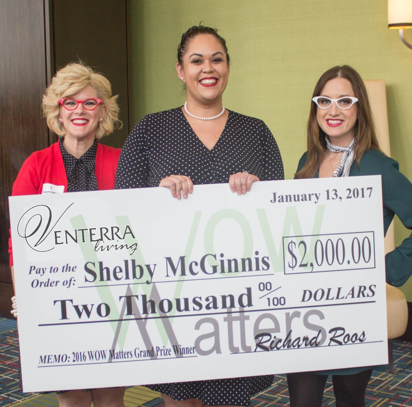 2016 WOW Grand Prize Winner - Shelby