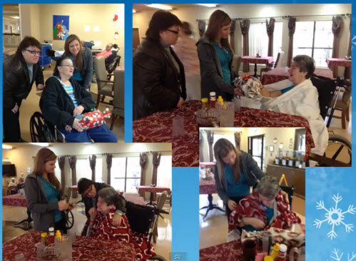 Raintree Apartments Adopts a Senior for the Holidays