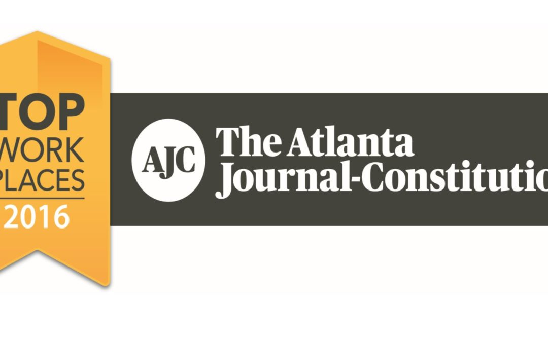 Venterra Named a Workplace Achiever by The Atlanta Journal Constitution!
