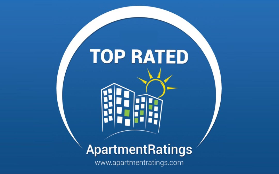 Top Rated in 2016 by ApartmentRatings.com!