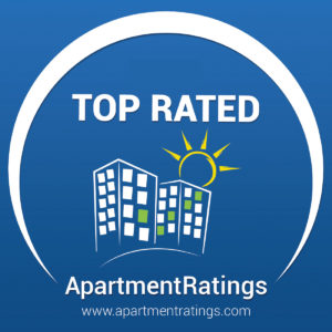 apartmentratings.com logo top rated in 2020