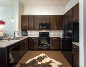 west 46th apartments kitchen