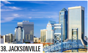 best large u.s. cities - jacksonville