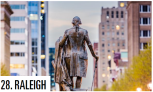 best large u.s. cities - raleigh