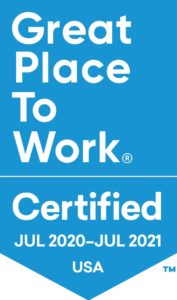 Great Place to Work 2020 | Venterra